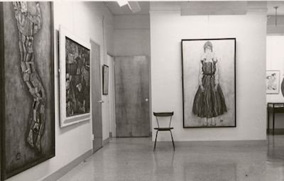 Egon Schiele traveling exhibition. Galerie St. Etienne, 1960.
