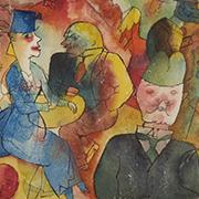 Max Beckmann, Otto Dix, George Grosz