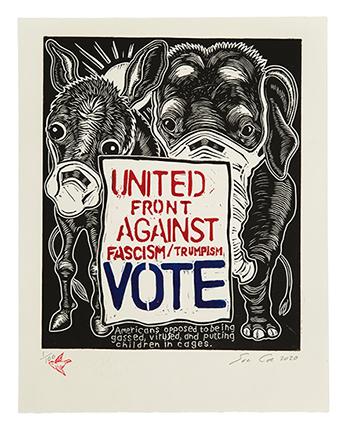 United Front Against Fascism/Trumpism: VOTE