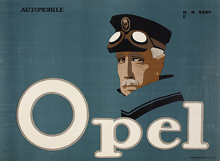Poster for Opel Automobile