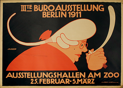Poster for the General Exhibition of Office Supplies, Berlin