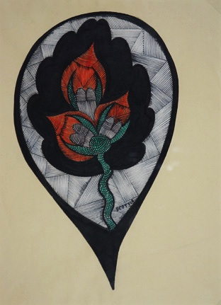 Untitled (Orange Flower)