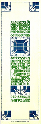 Poster for the Twelfth Exhibition of the Vienna Secession