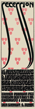 Poster for the Sixteenth Exhibition of the Vienna Secession