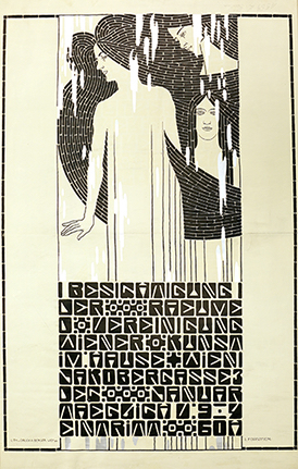 Poster for an Exhibition of Wiener Kunst im Hause