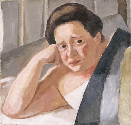 Henriette von Motesiczky, Portrait No. 1